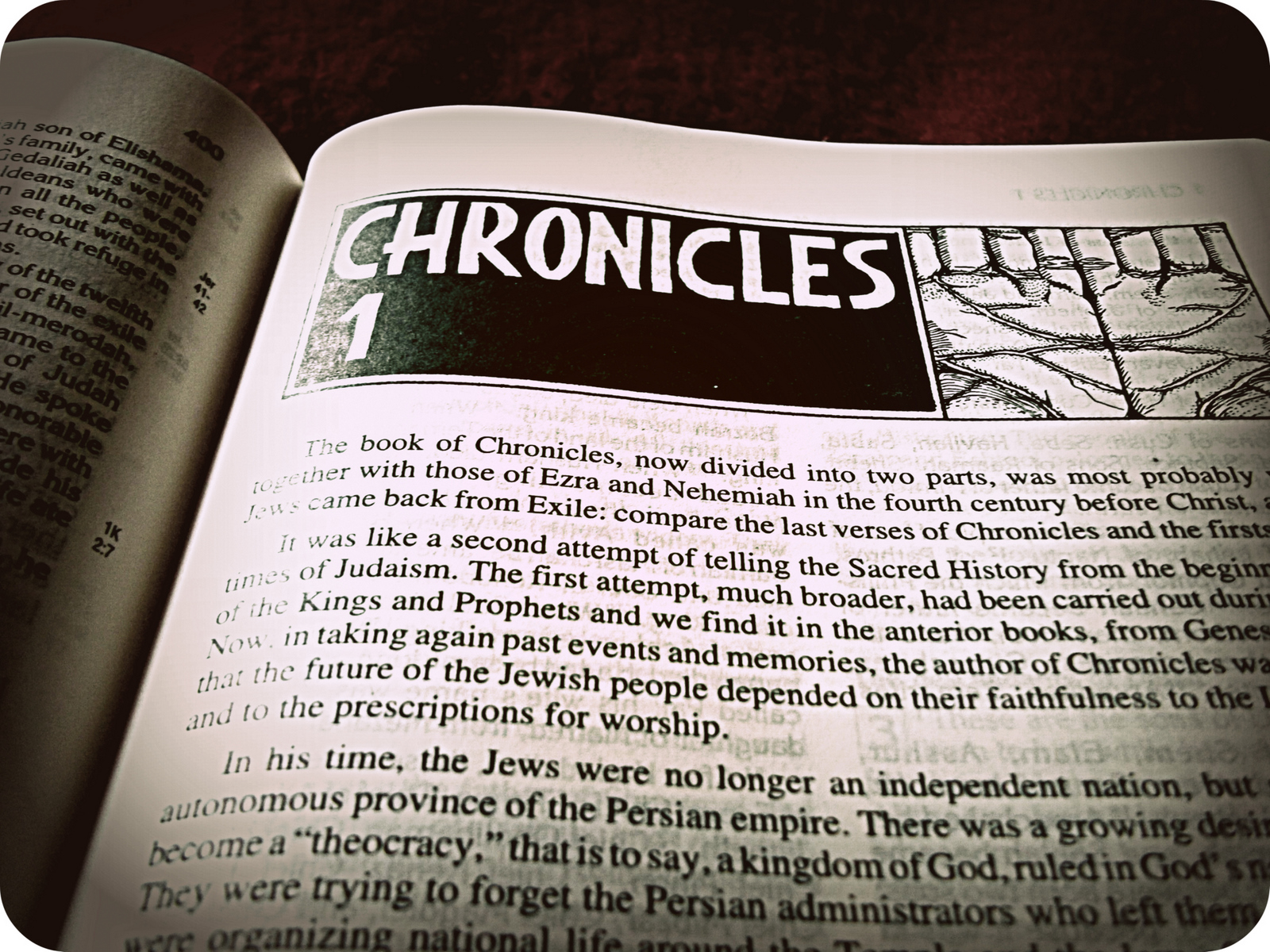 how to write a chronicle
